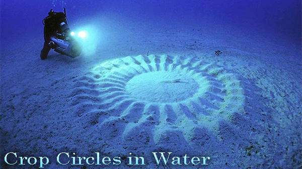Crop Circles in Water