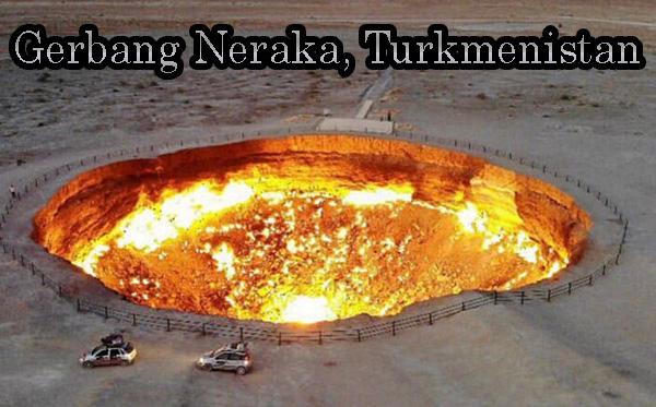 Gerbang Neraka, Turkmenistan