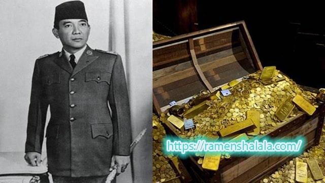 Sejarah Harta karun Seokarno Presiden ke-1 Indonesi